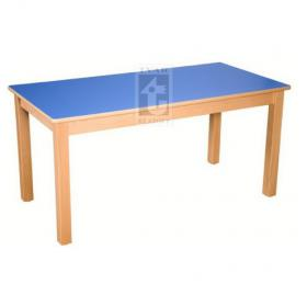 Stůl 120 x 60 cm - deska umakart, podnož masivní buk