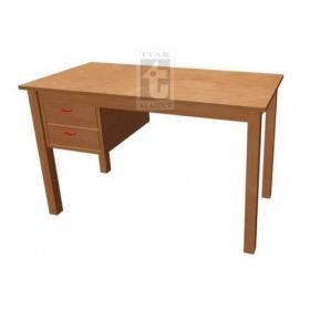 Stůl pro učitele se 2 zásuvkami