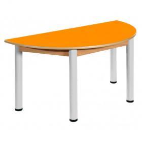 Stůl půlkulatý U 120x60