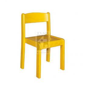 Stohovatelná židle TIM A - celomořené provedení