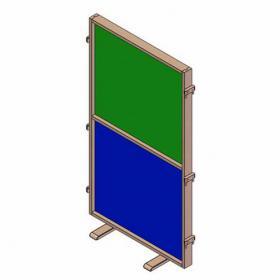 Paraván tabule - lamino