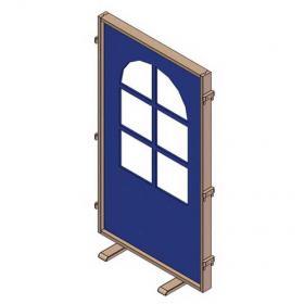 Paraván okno varianta 2