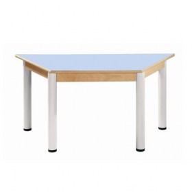 Stůl trapézový 120 x 60 cm / výškově stavitelné nohy 36 - 70 cm