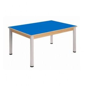 Stůl 120 x 80 cm / výškově stavitelné nohy 36 - 70 cm