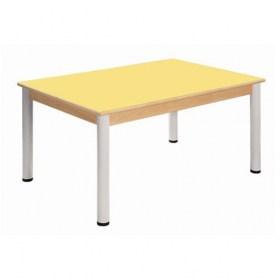 Stůl 80 x 60 cm / výškově stavitelné nohy 58 - 76 cm