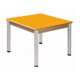 Stůl 80 x 80 cm / výškově stavitelné nohy 58 - 76 cm